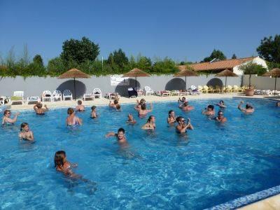 sports aquatique activités gymnastique cours camping vendée saint jean de monts