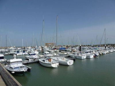 Petit port de Noirmoutier en France