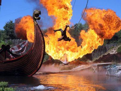 Animations vikings au parc du puy du fou